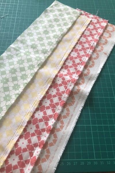 garden variety fabric strips