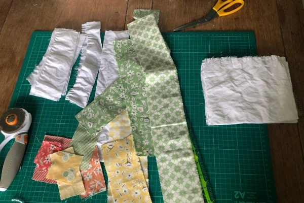scraps for after quilt backing