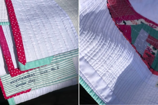 hiding quilting mistakes