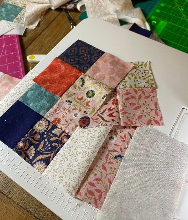 scrappy quilt border
