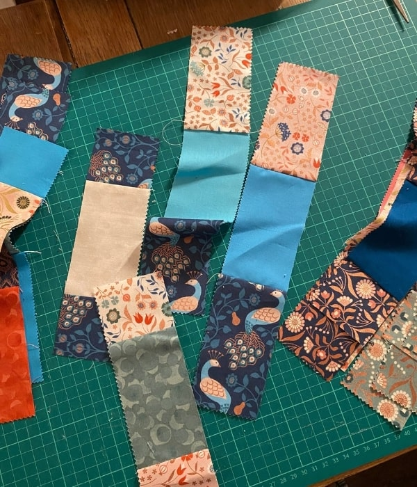 disappearing 9 patch quilt blocks