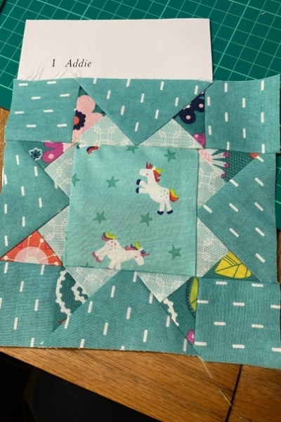 farmers wife quilt block addie