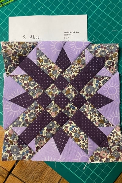 farmers wife quilt block alice