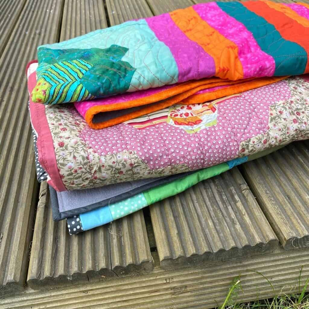 fleece backed charity quilts