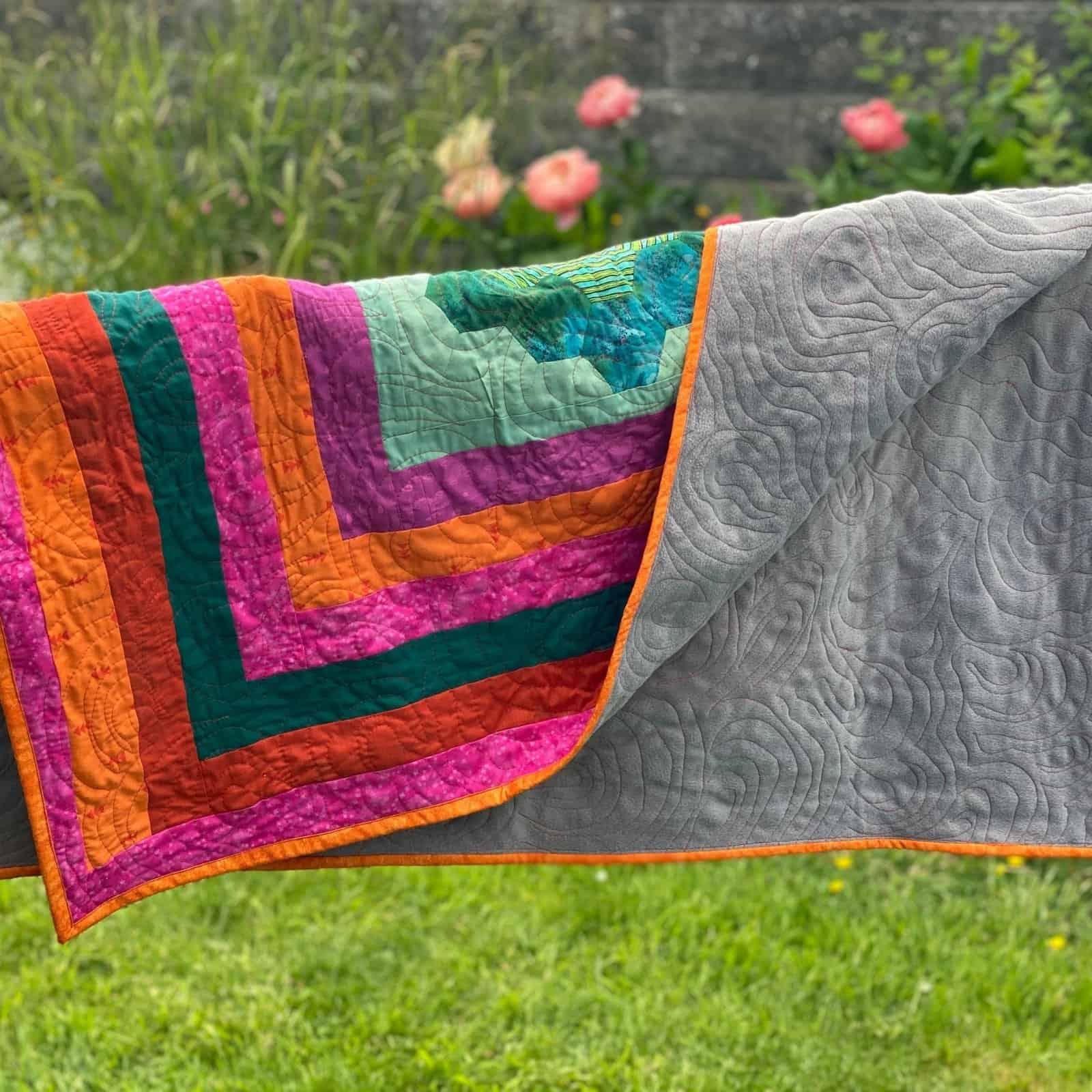 fleece quilt backing