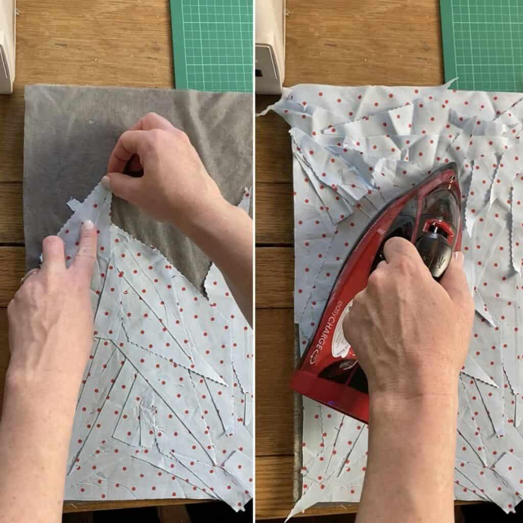 irregular shaped scraps