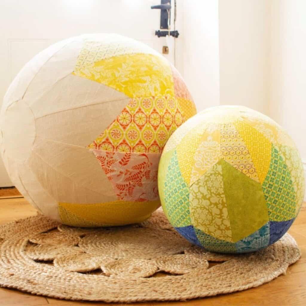 yoga ball cover pattern