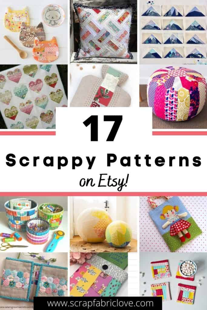 scrap fabric friendly sewing patterns