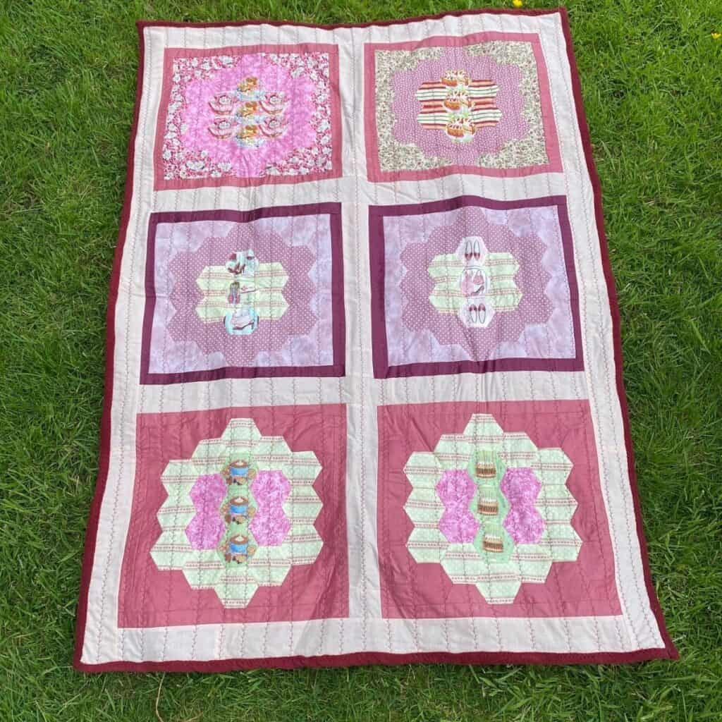 using fleece for quilt backs lap quilt