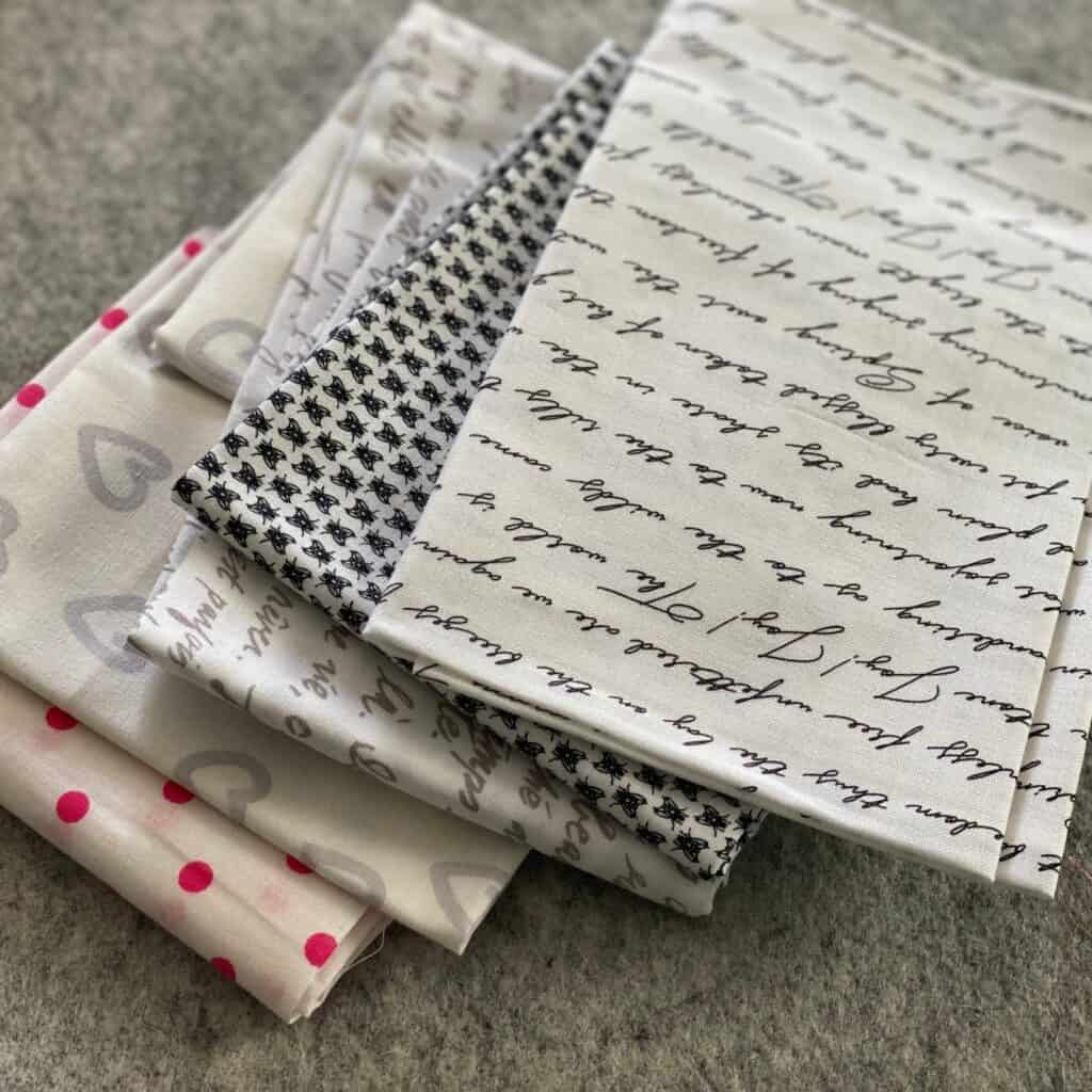 cheap fabric for quilting low volume lucky dip