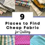 cheap quilting fabric