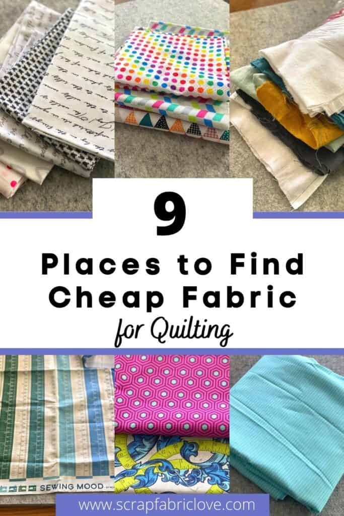 9 place to find cheap fabric for quilting