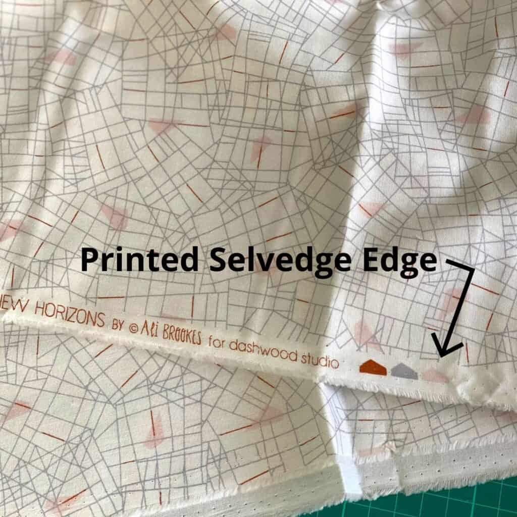 what is a selvedge edge