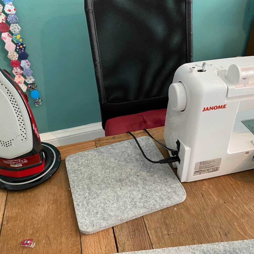 crumb quilting ironing station