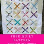 scrap fabric quilt pattern