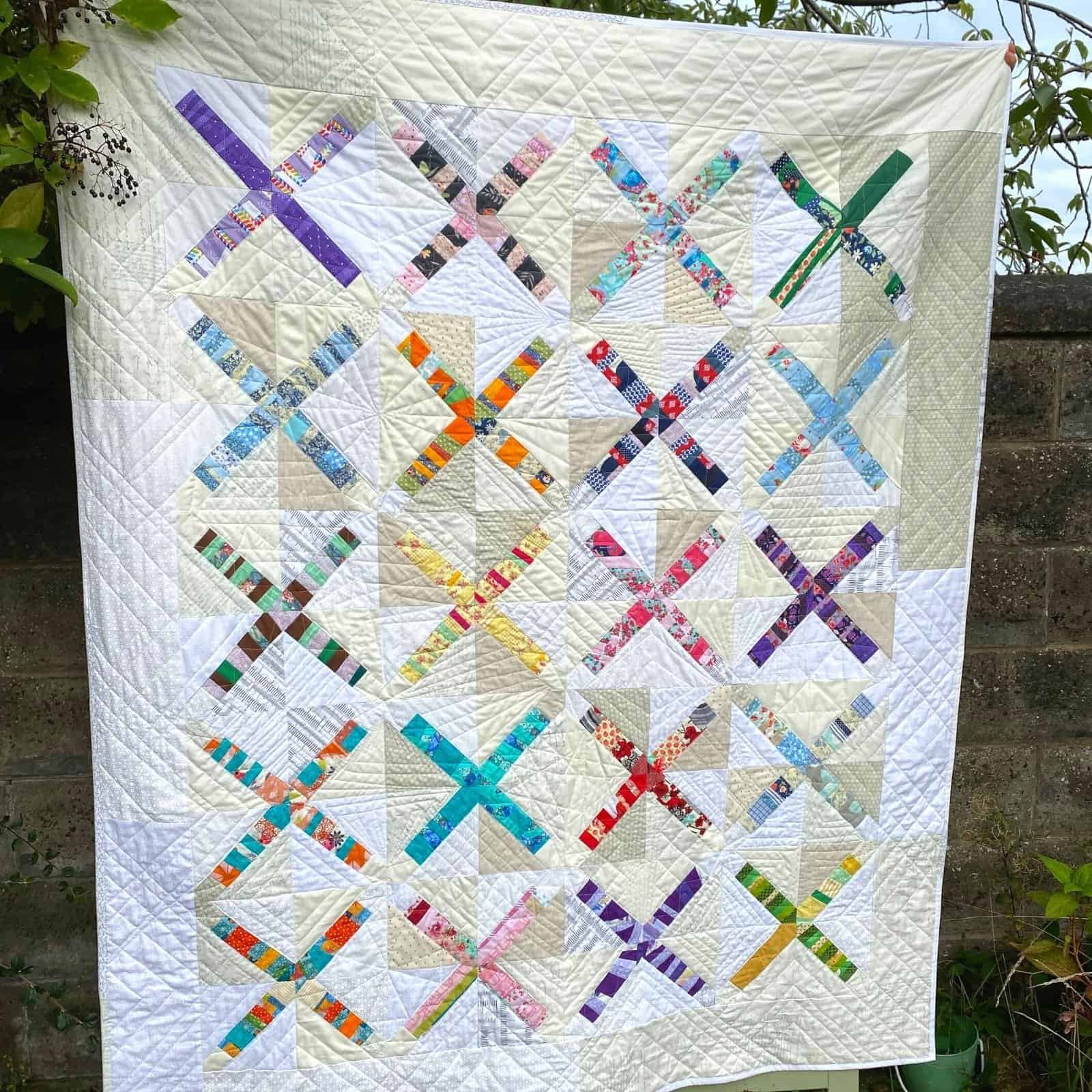free quilt pattern for scraps