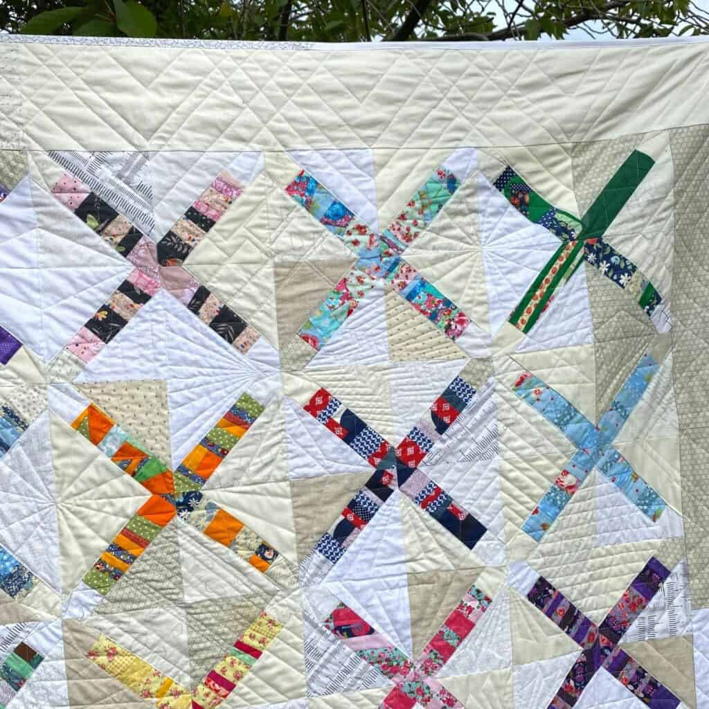 x marks the scrap quilt