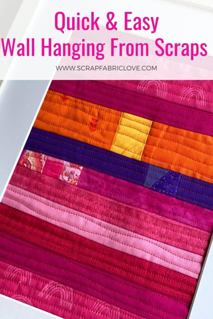 quilted wall hanging tutorial